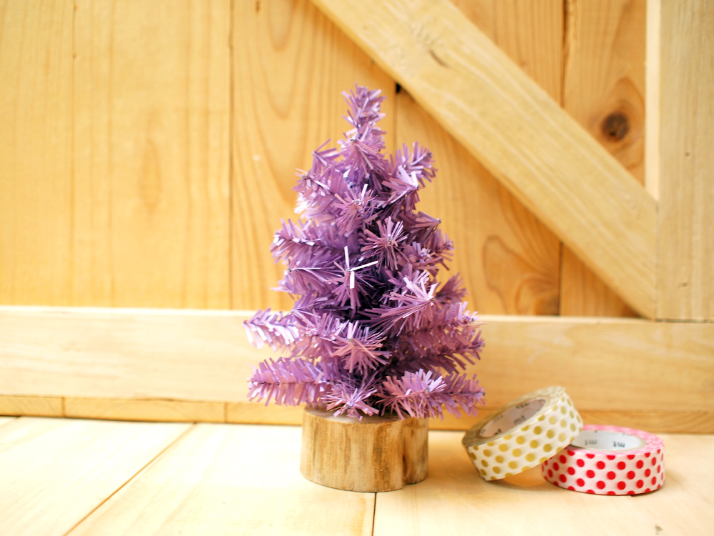 Purple Christmas Tree.Small Christmas Tree Purple